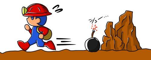 spelunker bomb